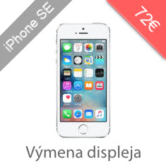 Výmena displeja na iPhone SE