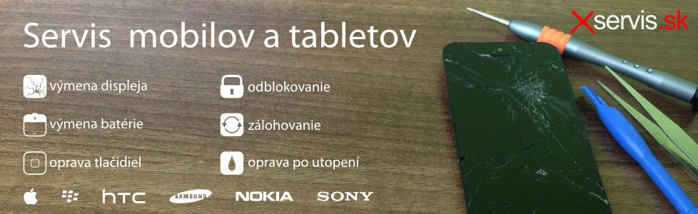 Opravy mobilov a tabletov