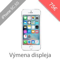 Výmena displeja na iPhone 5S / 5C