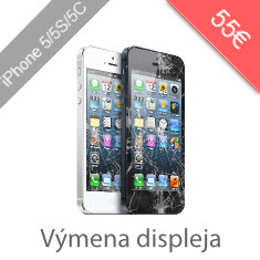 Výmena displeja na iPhone 5 5C 5S