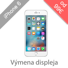 Výmena displeja na iPhone 6